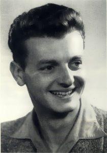 Klaus Feldmann Porträt Jung